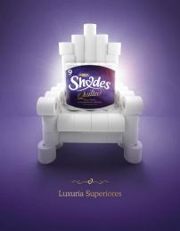 Asda: Throne Print Ad by Team collaboration