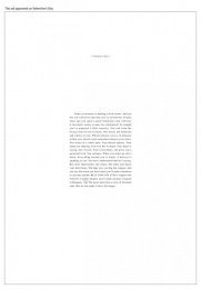 Belgian Heart Foundation: HEART STORY Print Ad by VVL BBDO Brussels