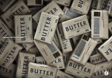Banco De Alimentos: Butter Print Ad by Mercado McCann