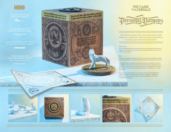 "HBO: His Dark Materials ""Personal Daemons"", 4 Print Ad by 360i"