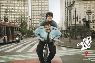 Specialized: Busdriver Print Ad by Bolero