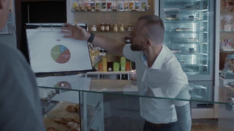 Cap48: Your ad on my prosthesis Film by Air Brussels, Geronimo Productions