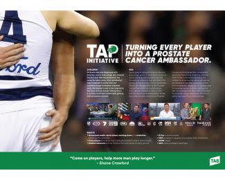 Tab (Totalisator Agency Board): Tap Initiative - Presentation Board Print Ad by M&C Saatchi Sydney