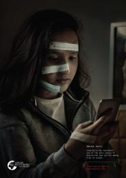 Alwaleed Philanthropies: Words Hurt, 2 Print Ad by Bold Riyadh