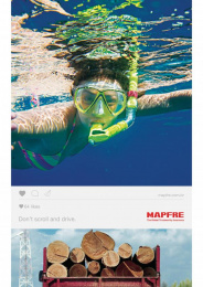 Mapfre: Dive Print Ad by Talent Marcel