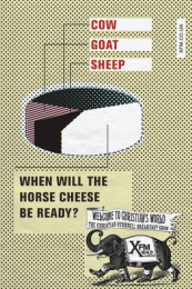Launch Of New Radio Show: HORSE CHEESE Outdoor Advert by Mother London
