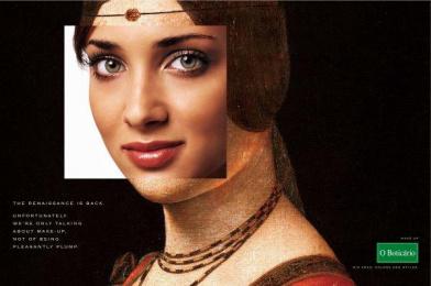 O Boticario: Talking About Make-Up Print Ad by ALMAP BBDO Brazil
