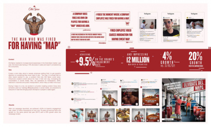 Old Spice: #MAPAALAVISTA Digital Advert by Proximity Bogota