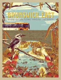 Public Transport Victoria: Brunswick East Print Ad by GPY&R Melbourne