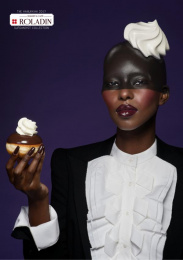 Roladin: Black Print Ad by M&C Saatchi Tel-Aviv