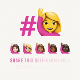 Friends Of Cancer Patients: The emoji that wants to save your life Digital Advert by Horizon FCB Dubai