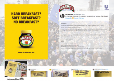 Marmite: The brand that took a stand, 1 Print Ad by Oliver Group UK