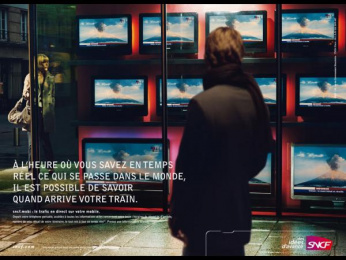 "Sncf Railways: ""Live Traffic"" Print Ad by TBWA Paris"