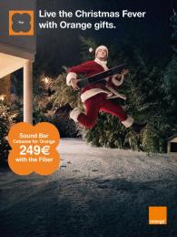 Orange: Sound bar Print Ad by Iconoclast, Prodigious, Publicis Conseil Paris