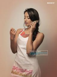 Sony Xperia M4 Aqua: Fish Phone Print Ad by ITSA Brand Innovations Ltd, MAP (Manoj Adhikari Productions)