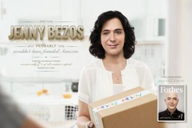 Forbes: Women - Jenny Bezos Print Ad by Ogilvy Sao Paulo