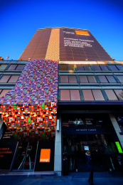 Orange: The largest wrapping paper, 2 Outdoor Advert by Publicis Brussels