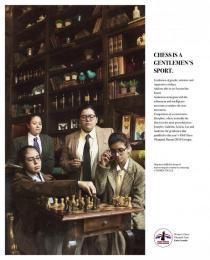 Women's Chess Olympiad Team Kuna Arandu: Chess is a Gentlemen's Sport Print Ad by Oniria\TBWA Asuncion