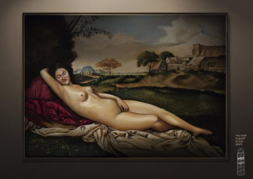 Yodora: Sweaty Art, 1 Print Ad by Sancho BBDO Bogota