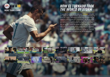 Electronic Arts: Electronic Arts Film by adam&eveDDB London
