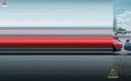 Mitsubishi: Forward Collision Mitigation System, 1 Print Ad by Promoplan