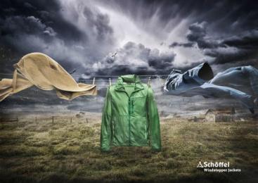 Schöffel: Windstopper Print Ad by Ogilvy & Mather Frankfurt