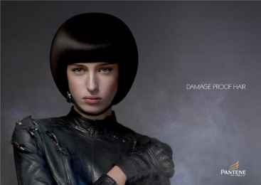 Pantene Pro-v: BIKER Outdoor Advert by Grey London