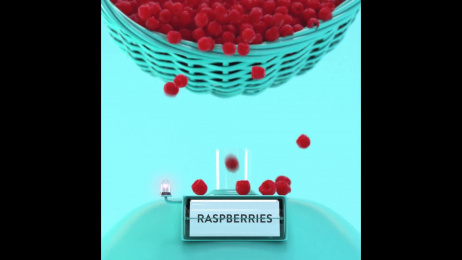 Talenti: Roman Raspberry Film by Fallon, Nomint Motion Design