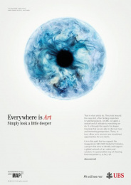 Ubs: Everywhere is Art, 3 Print Ad by Publicis London