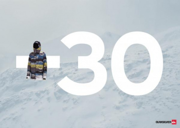 Quiksilver Clothing: -30, 2 Print Ad by Grey Istanbul