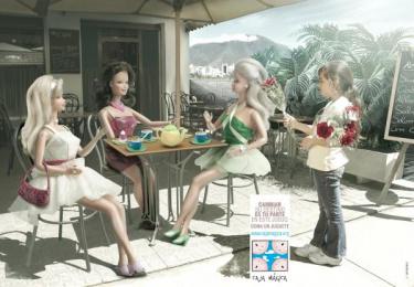 Fundación Caja Mágica: Play the game, 3 Print Ad by Zea BBDO Venezuela