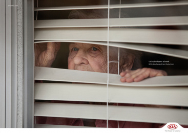 Kia: Grannies - Agnes Print Ad by Innocean Worldwide Europe