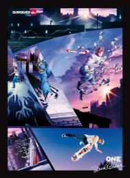 Quiksilver: DANIEL CARDONE SKATING Print Ad by Halbye Kaag J. Walter Thompson Copenhagen