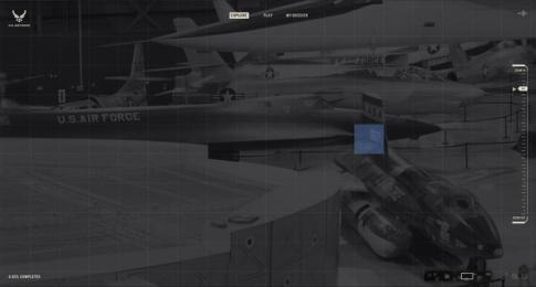 US Air Force: Million Piece Mission, 1 Digital Advert by GSD&M Austin