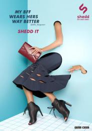 Shedd: ELLE FERGUSON PRINT 1 Print Ad by Grey Melbourne, Velvet