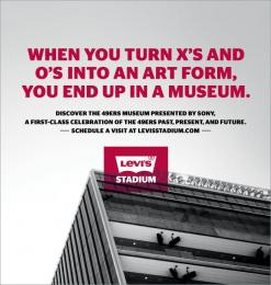 Levi's Stadium: Print Print Ad by Hub Strategy