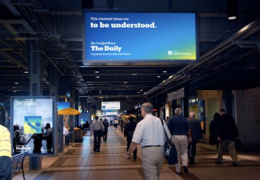 The New York Times: This Moment Deserves to be Understood, 5 Outdoor Advert