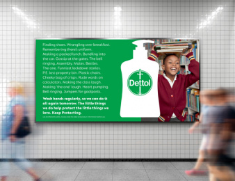 Reckitt Benckiser: Keep Protecting Print Ad by McCann London