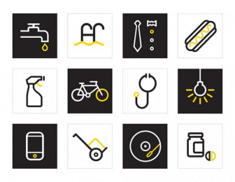 Yellow Pages/ YP: The New Way To Do, 4 Design & Branding by Interbrand Group