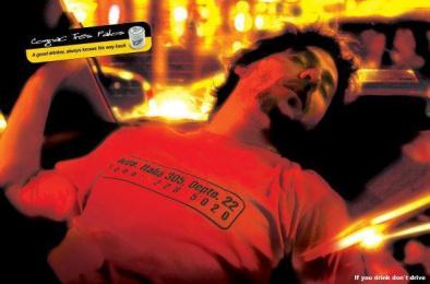 Tres Palos Cognac: TAXI Print Ad by FCBMAYO Santiago