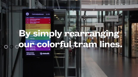 Västtrafik: Proud Timetables Outdoor Advert by Forsman & Bodenfors Gothenburg