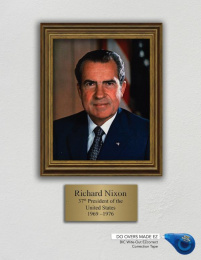 Bic: Do Overs Made EZ, Richard Nixon Print Ad by Syracuse University