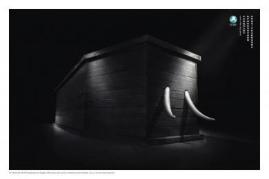 Ifaw: ELEPHANT Print Ad by Y&R Beijing