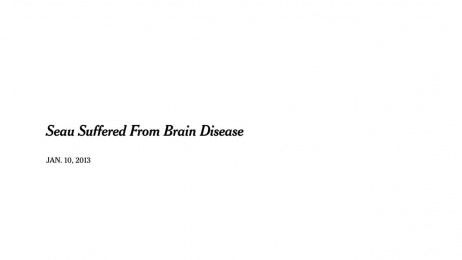 The New York Times: Investigating Concussions in the N.F.L. Film by Droga5 New York