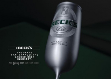 Beck's: Le Beck's: The legendary beer can [Supporting Images] 5 Design & Branding by Serviceplan Munich