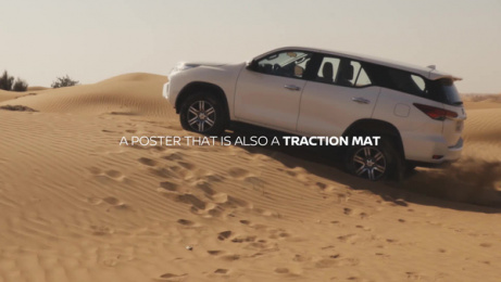 Nissan: Nissan Unstuck Poster, 1 Film by TBWA\RAAD Dubai