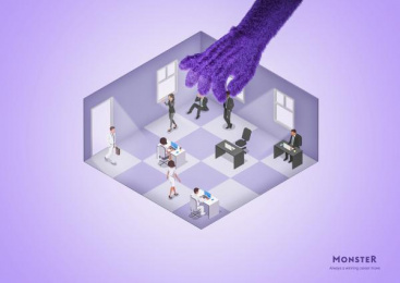 Monster.com: Career Moves, 1 Print Ad by Miami Ad School Hamburg