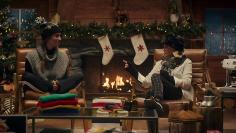 Hudson's Bay: The Gifting Guru with Annie Murphy and Catherine O'Hara Film by FCB Toronto