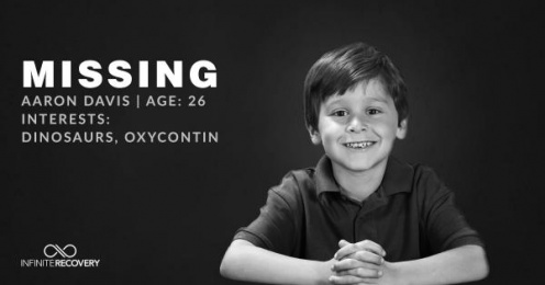 Infinite Recovery: Missing Boy Print Ad by Rock Candy USA