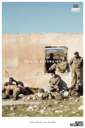 Army: This is belonging, 5 Print Ad by Karmarama London, Smuggler
